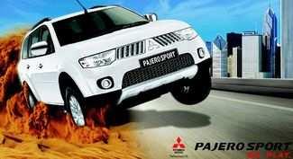 Знакомство с Pajero Sport Automatic